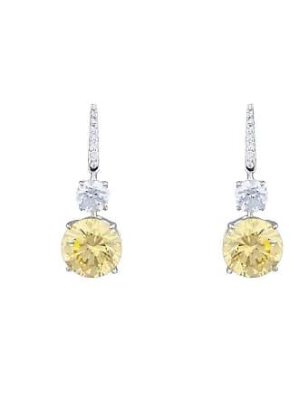 Fantasia Sterling Silver & Palladium Double Round Drop Earrings