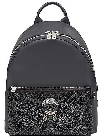 a6146af7cc01 Fendi studded Karlito backpack - Black