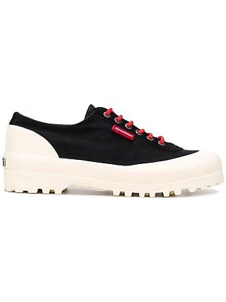 642c4f278ae0 Superga colour block sneakers - Black