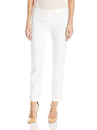 Nic+Zoe Womens Perfect Pant Modern Slim Ankle, Paper White 14