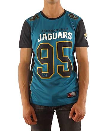 Majestic T-Shirt - NFL Jacksonville Jaguars Dene Poly Mesh Turquoise Black  Size  febe79285