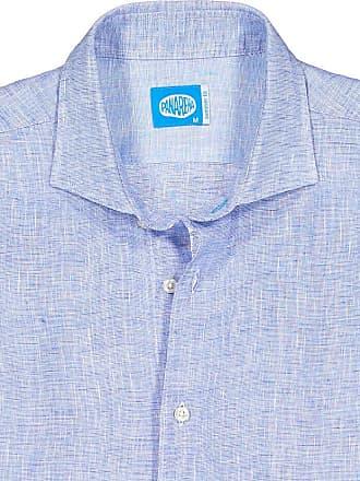 Panareha FIJI linen shirt blue