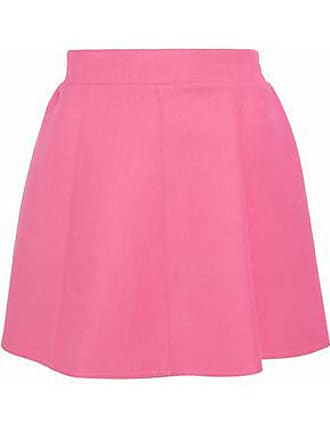 bc4096dfeb Red Valentino Redvalentino Woman Flared Cotton-blend Crepe Mini Skirt Pink  Size 42