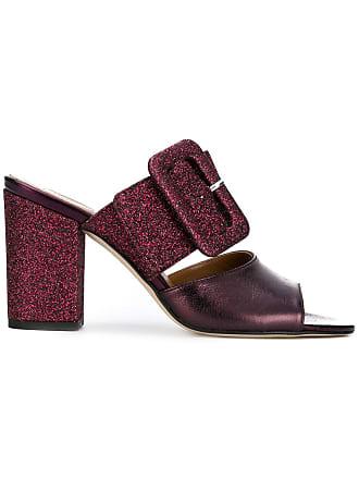 PARIS TEXAS Sapato mule de couro - Rosa