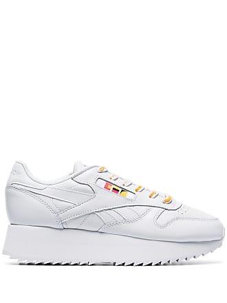 952658eba7ea60 Reebok white x Gigi Hadid Classic chunky leather low-top sneakers