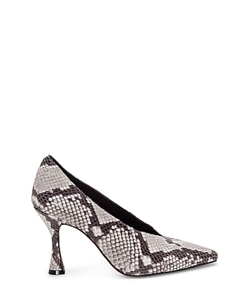 Vince Camuto Womens Ishani High Cut Pumps Black White Size 11 ALICANTE SHEEP From Sole Society