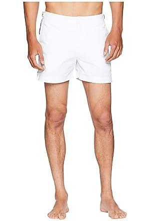 3373400db5 Orlebar Brown Setter Applied Tape Swim Shorts (White/Navy/Red) Mens Swimwear