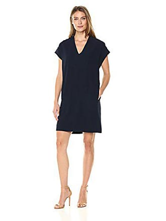 Karen Kane Womens Sophie Dress, Navy, M