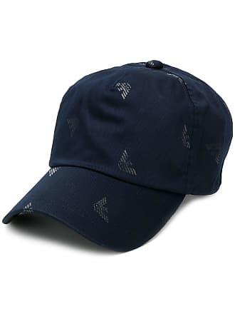 Emporio Armani Cappello da baseball con stampa - 00035 Blue 44bfb1072dc