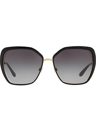 Dolce & Gabbana Eyewear oversized sunglasses - Preto