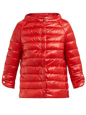 Herno Icons Elsa Quilted Down Jacket - Womens - Red