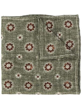 Brunello Cucinelli floral patterned scarf - Verde