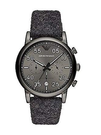 Emporio Armani Relógio Empório Armani Masculino Aviator Grafite Ar11154/1pn
