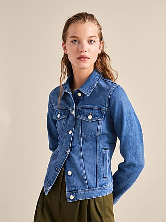 MASSIMO DUTTI DENIM JACKET WITH POCKETS