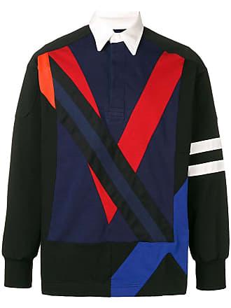 Facetasm Camisa polo color block - Azul