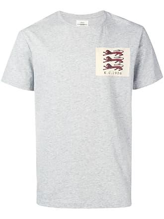 Kent & Curwen logo T-shirt - Grey