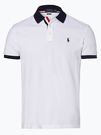 cea0b04e8f77ae Polo Ralph Lauren Herren Poloshirt - Slim Fit weiss
