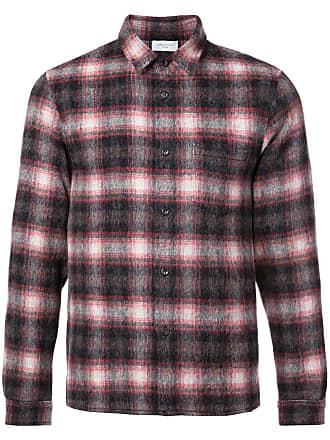 John Elliott + Co checked shirt - Preto