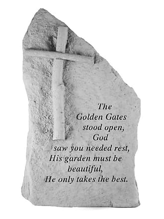 Kay Berry The Golden Gates Stood Open Memorial Stone Totem - 29320