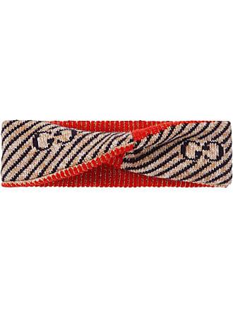 f5a0d309cb6 Gucci GG stripe wool headband - Black