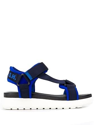 P.A.R.O.S.H. ridged platform sandals - Blue