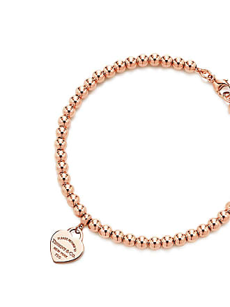6ca731843 Tiffany & Co. Return to Tiffany mini heart tag in 18k rose gold on a