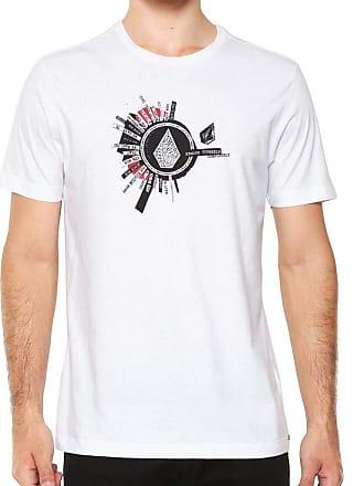 Volcom Camiseta Volcom Silk Slim Radiate Branco