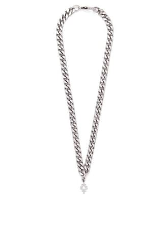 Marcelo Burlon Cross Necklace - Mens - Silver