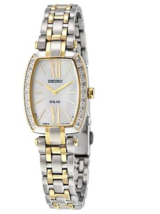 Seiko Tressia Mother of Pearl Dial Two-tone Ladies Watch SUP284