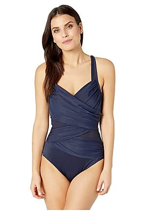 033406ba8ec0a Miraclesuit Network Madero One-Piece (Midnight Blue) Womens Swimsuits One  Piece