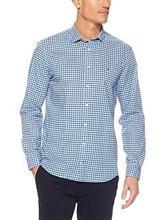 1e7a1402 Tommy Hilfiger Mens Multicoloured Check Shirt, Zinnia/Multi, XX-Large