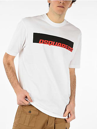 Dsquared2 Crewneck T-shirt with Printed Logo size Xl