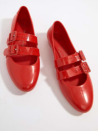 466389de3947 Vivienne Westwood Vivienne Westwood Doll Flat Shoes - Red