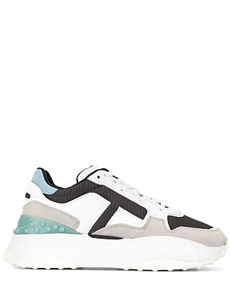 Tod's chunky sole sneakers - White