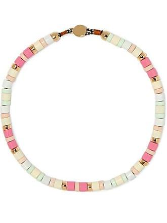 Roxanne Assoulin Bahamas Enamel Necklace - Pink