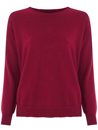 Fillity Suéter de tricô de lã - Vermelho