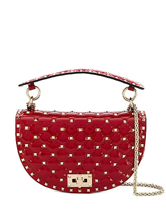 c7ac99d764 Valentino Valentino Garavani Rockstud Spike saddle bag - Red