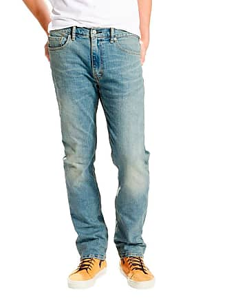 Levi's Calça Jeans Levis Masculina 513 Slim Straight Indigo Média