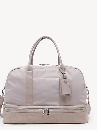 Sole Society Womens Mason Weekender Vegan Leather In Color: Lilac Nylon Bag From Sole Society