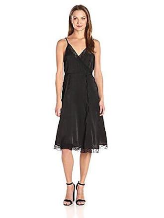 b4e20185daf8 Somedays Lovin Womens Canyon Lace Detail Wrap Dress, Black Small