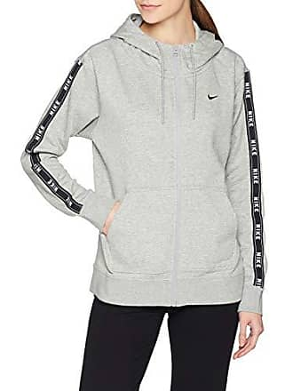 c7dbb5d400e9e0 Nike Sportswear Logo Tape Giacca, Grigio (Dark Grey Heather/Matte Silver  Black 063