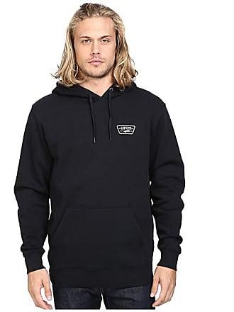 dbcdee3e8b387c Vans Full Patched Pullover Fleece (Black) Mens Fleece