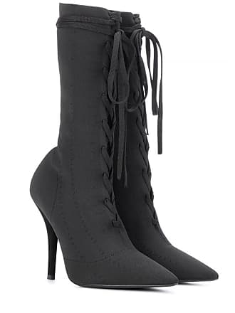 Yeezy by Kanye West Lace-up knit ankle boots (SEASON 5)