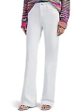 J Brand Womens Joan High-Rise Wide-Leg Jeans - White Size 24