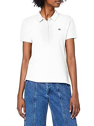 d01a87d1aca Napapijri Femme Elma Piquet 1 Bright White Polo Not Applicable