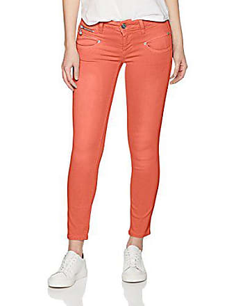 0931b9ec0e0a9 Freeman T. Porter Alexa Cropped Magic Color, Pantalon Femme, Orange  (Paprika F779