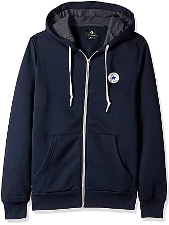 625172cc25b6 Converse Mens Core Full Zip Hoodie Sports