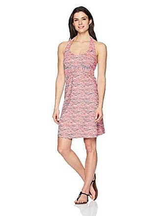 ZeroXposur Womens Code Halter Swim Dress, Flame, L
