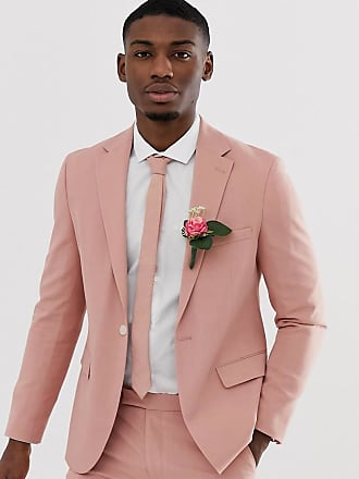 27da3decef Moss Bros. Moss London slim suit jacket in dusty pink