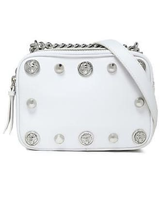 229e87604d95 Versus Versus Versace Woman Studded Leather Shoulder Bag White Size